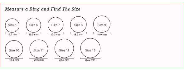 How To Find Your Ring Size With A Tape Measure